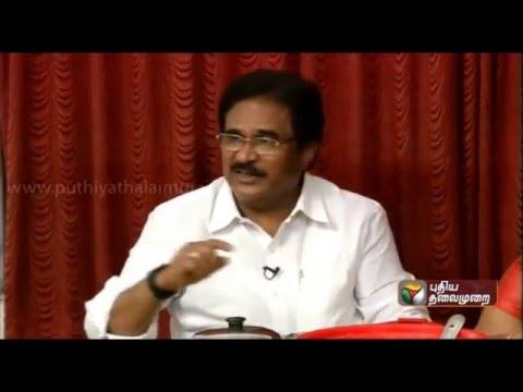 Thalaivargaludan: Su. Thirunavukkarasar (Indian National Congress)  (03/04/2016)