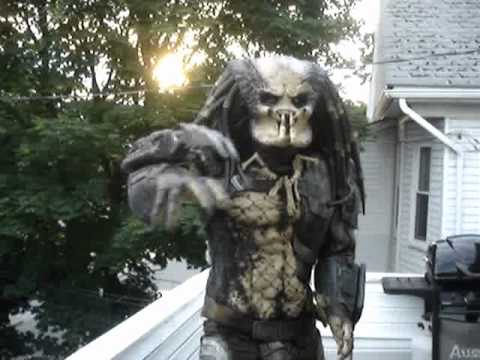 Full Predator Costume Suit Up Youtube