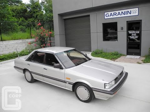 1986 Nissan Skyline Passage R31 RB20ET All original and nearly mint condition.