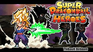 [ Sprite Animation] Super Dragon Ball Heroes : World Mission