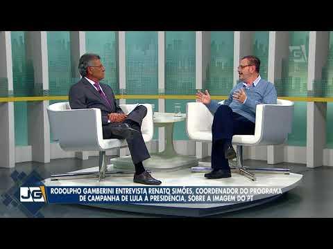 Rodolpho Gamberini entrevista o ex-dep. fed. Renato Simões/PT, sobre Lula e as eleições.