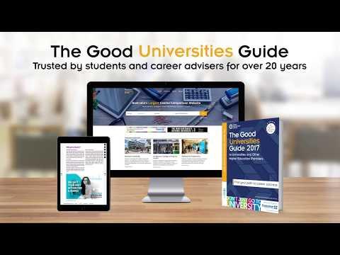 Australia's Largest Course Comparison Website - The Good Universities Guide.