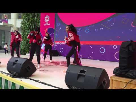 MODERN DANCE SMKN 8 JAKARTA | One Belpark Mall