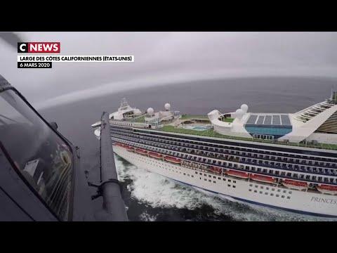 Coronavirus: un bateau de croisière empêché d'accoster à San Francisco
