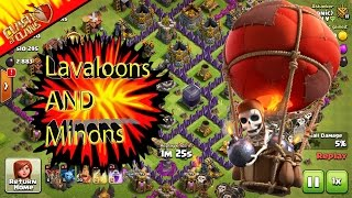 [Lavaloons and Minion] Clash Of Clans With MARIO SONIC