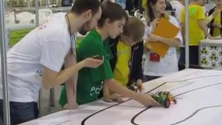 Робофест-2017 Ардуино шорт-трек четвертьфинал
