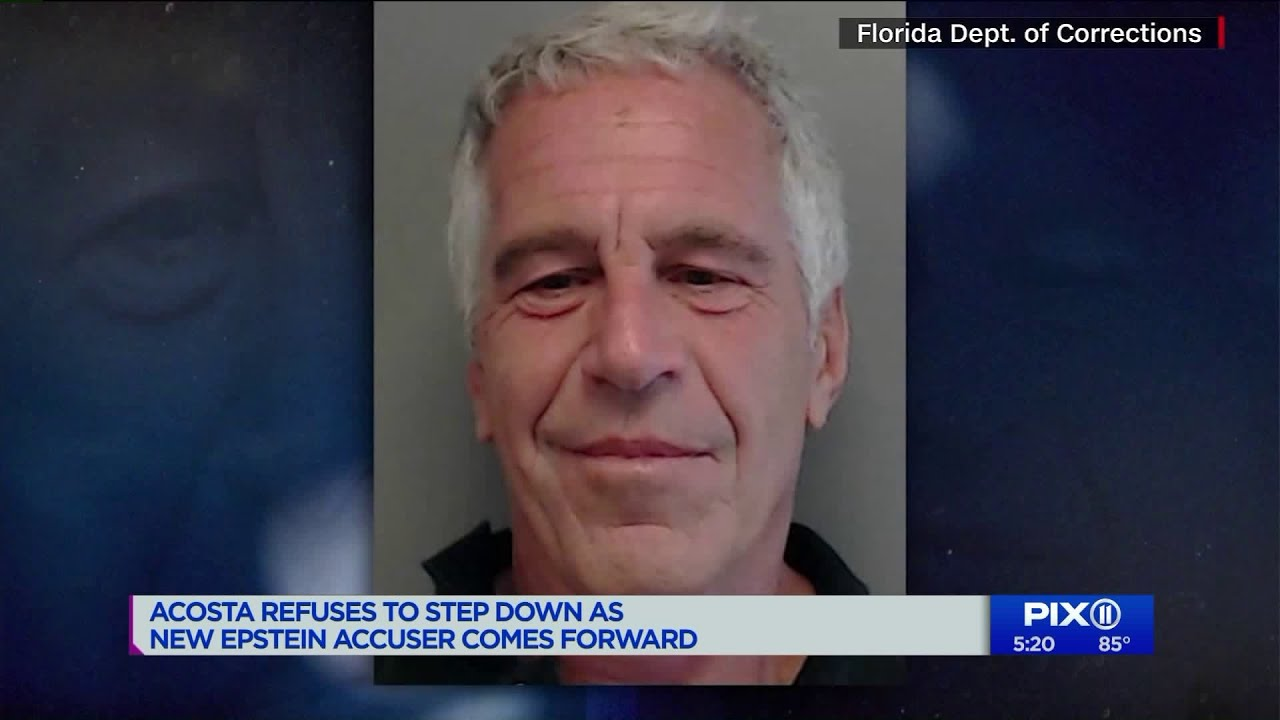 New alleged victim of Jeffrey Epstein says he raped her when she was 15