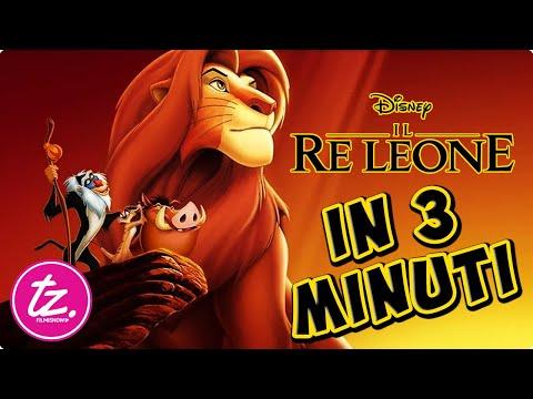IL RE LEONE | Raccontato in 3 Minuti Circa - Film Disney