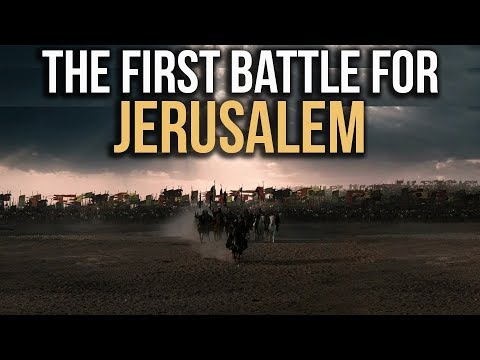 The day Muslims entered into JERUSALEM for the first time