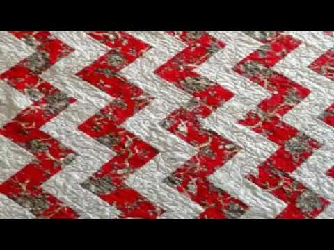 easy quilting patterns rail fence quilt designs - YouTube : easy quilt designs - Adamdwight.com