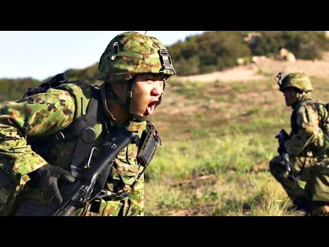 Japan Self-Defense Force – Infantry Ambush to Secure Drop Zone