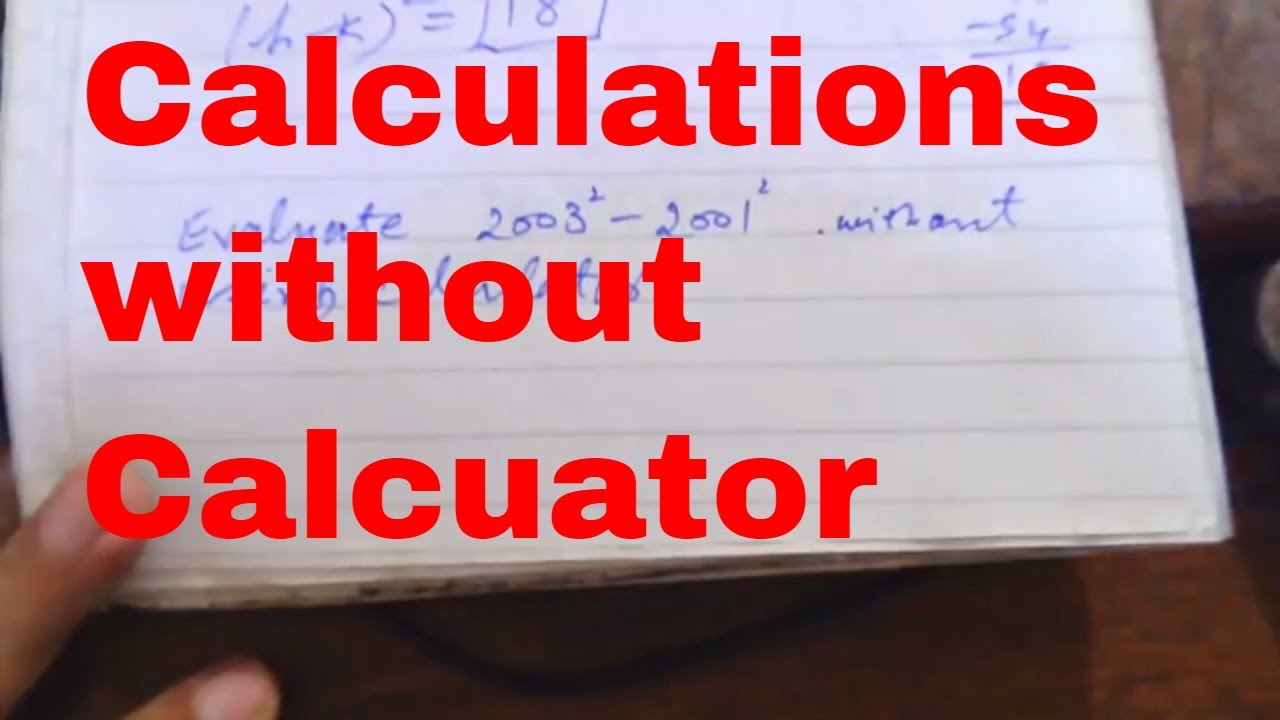 calculations without calculator, Entry Test, Job Test, NTS PPSC PTS, HEC  FPSC OTS