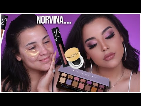 ABH NORVINA PALETTE MAKEUP TUTORIAL, REVIEW + FIRST IMPRESSIONS! | Watch Before You Buy! thumbnail