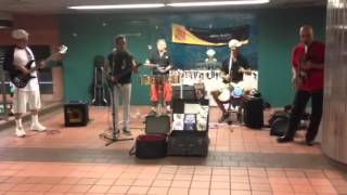 Salsa music live at grand central station New York City