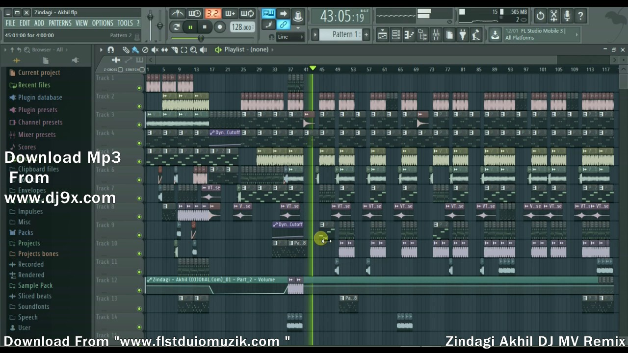 Fl studio project files download