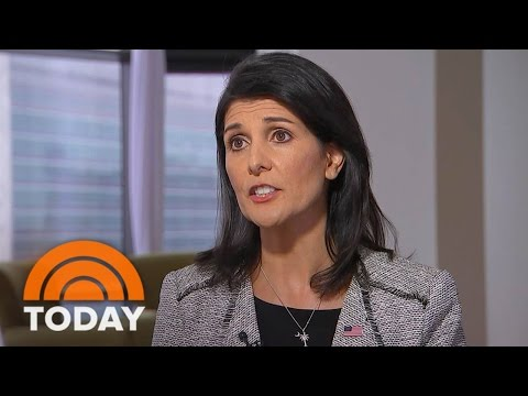 UN Ambassador Nikki Haley: North Korea Getting 'Better And Better' With Missiles (Exclusive) | TODAY