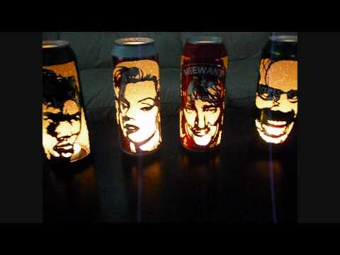 AMAZING  Beer Can Lanterns!