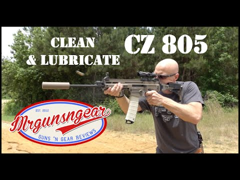 How To Clean And Lubricate A CZ 805 Bren Rifle Or Pistol