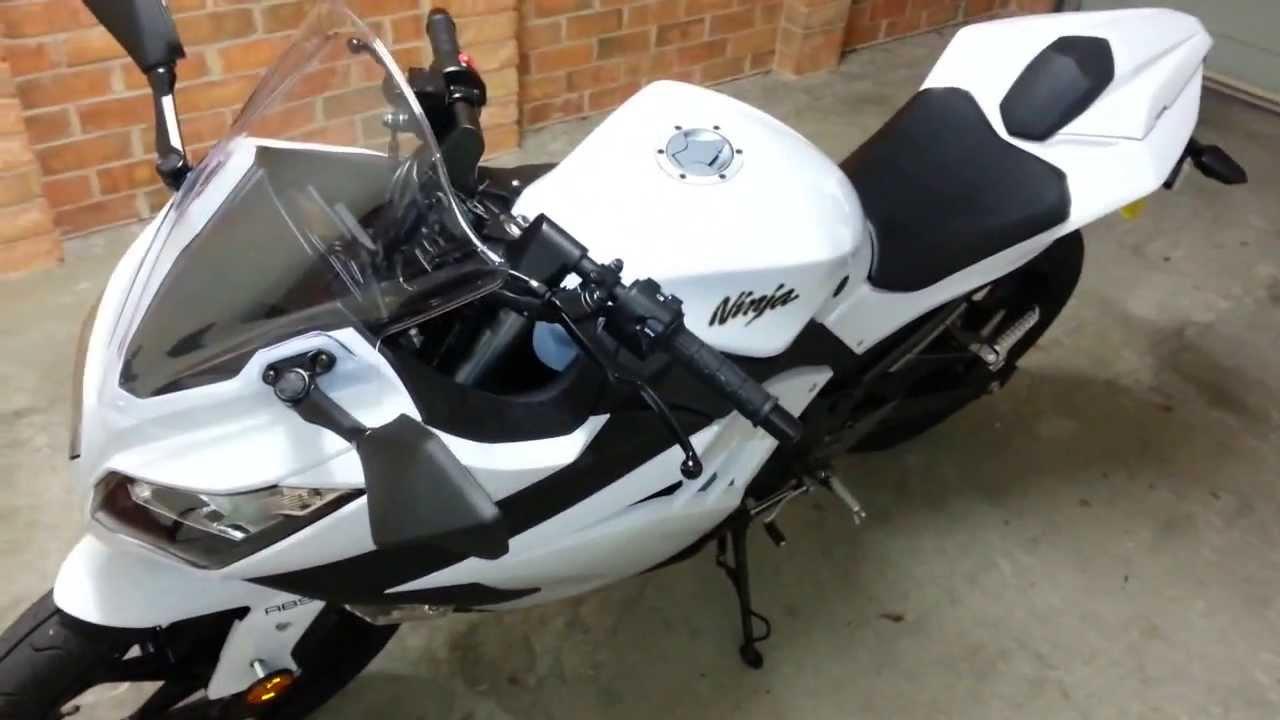 Ninja 300 Fuel Economy + More seat storage - YouTube
