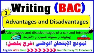 Download Writing A Paragraph: Advantages and Disadvantages (The car and the Internet) - English With Simo Mp3 and Videos