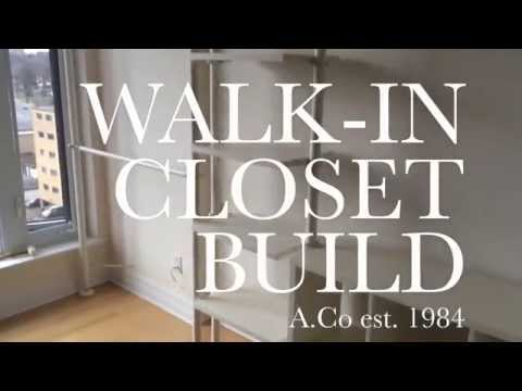 Building My Ikea Walk In Closet | Acoest1984   YouTube