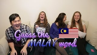 Guess the Malay Word