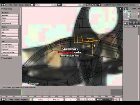Bear Archery within Blender Speed modeling