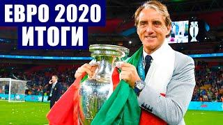 Футбол Финал Евро 2020 Итоги чемпионата Европы по футболу цифры факты и рекорды