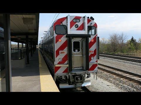 Metra Electric University Park To Millennium Station Ride, IL