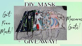 EASY 10 MIN DIY MASK! HOW TO MAKE A MOUTH COVER IN LESS THAN 10 MINS! + FREE MASKS! FREE MOUTH COVER