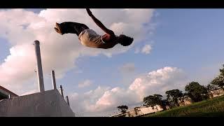 Indian Parkour and freerunning / Swrang Narzary / kokrajhar town
