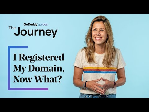 I Registered My Domain, Now What?