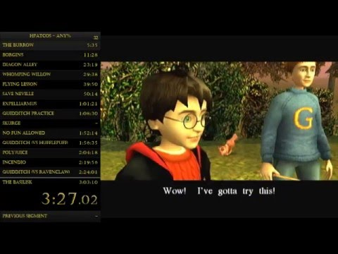 Harry Potter and the Chamber Of Secrets: Any% (Xbox) - 2:39:46 (Speedrun)