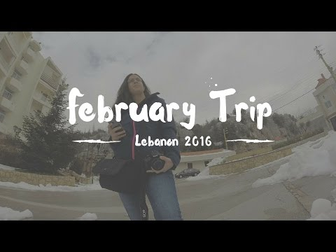 GoPro Hero 3+ : February Trip to Lebanon 2016