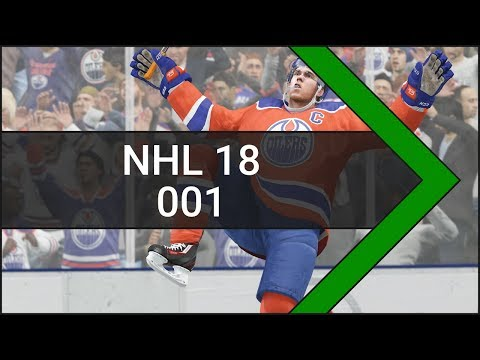 Let's Play NHL 18 [Xbox One] #001 Colorado Avalanche vs. New York Rangers