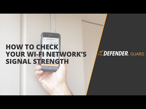 How To Check Your Wi-Fi Network's Strength   Defender Guard