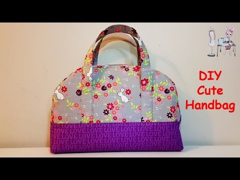 #DIY Cute Bag   Handmade Bag   Lunch bag    Tutorial