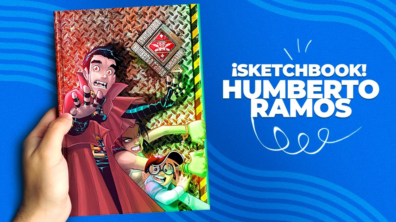 Buscando INSPIRACION Humberto Ramos SketchBook