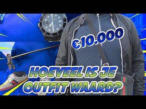 OUTFIT VAN €10,000 (ROLEX, CARTIER & MEER!) HOEVEEL IS JOUW OUTFIT WAARD? - ZAANDAM