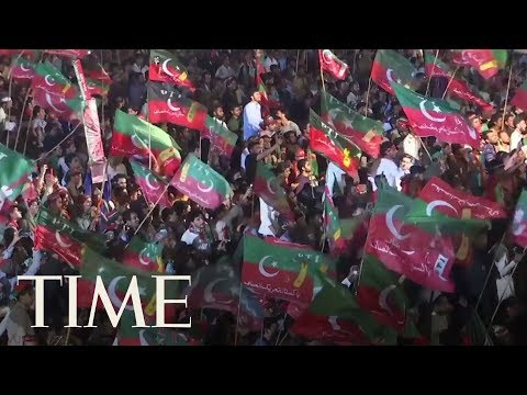 Cricket Star Imran Khan Declares Victory In Pakistan Election | TIME