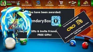 8Ball Pool Rewards Link Box+Spin+Coins 🎱 توزيع روابط هدايا اليوم لزيادة الكوينز في لعبة  8 بال بول