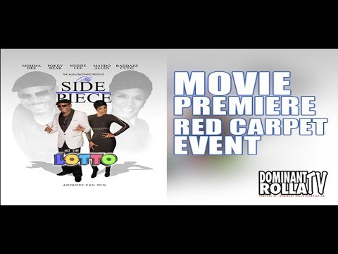 MY SIDE PIECE HIT THE LOTTO - MOVIE PREMIERE | RED CARPET EVENT