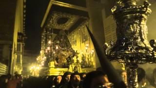Semana Santa de Málaga 2014. Lunes Santo. Cofradía Dolores del Puente (4)