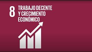 8 Trabajo Decente y Crecimiento Económico - Agenda 2030-