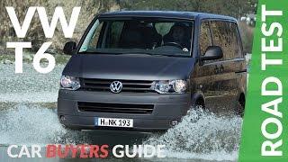 Volkswagen Transporter T6 Review 2017