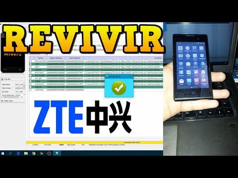 Flashear / Revivir ZTE KIS II MAX Pegado En El Logo FIRMWARE ORIGINAL SIN ERRORES / Unbrick 2019