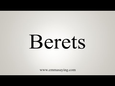 download How To Say Berets