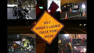 Orange County Sheriffs DUI and DL Checkpoint Aliso Viejo Ca