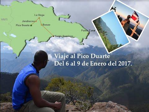 Viaje al Pico Duarte
