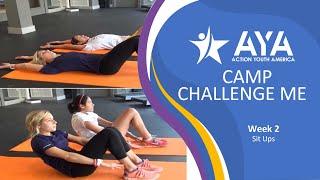 AYA - Camp Challenge Me: Sit Ups